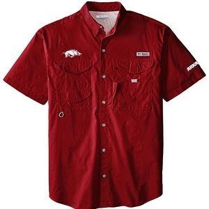 Columbia PFG | Arkansas Razorback Shirt